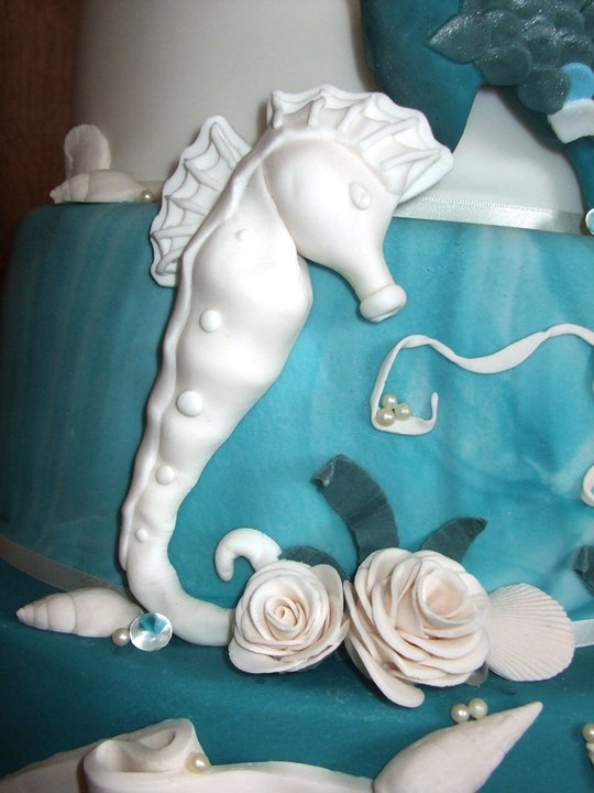 Nautical Themed Wedding Cake 3