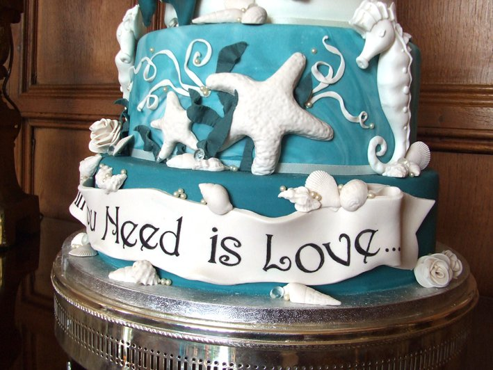 Nautical Themed Wedding Cake 4