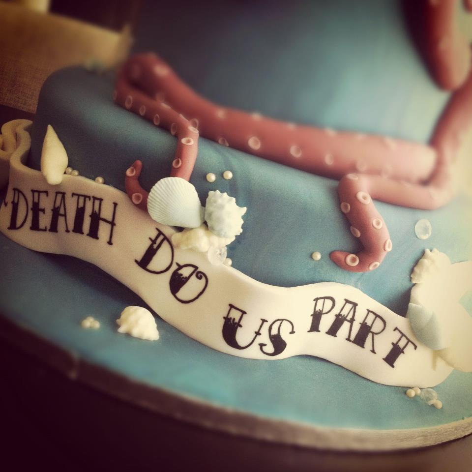 Underwater Themed Wedding Cake 4