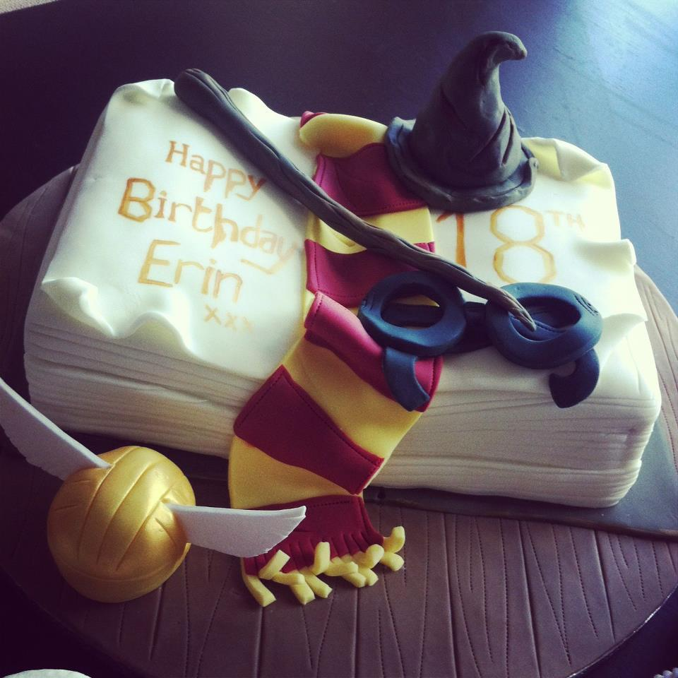 Harry Potter Cake And Cup Cakes 2
