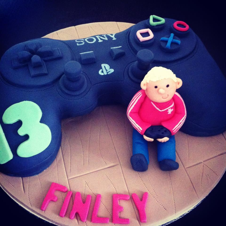 Sony PS Controller Cake