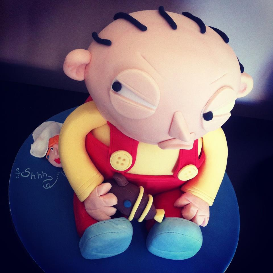 Stewie Family Guy Cake