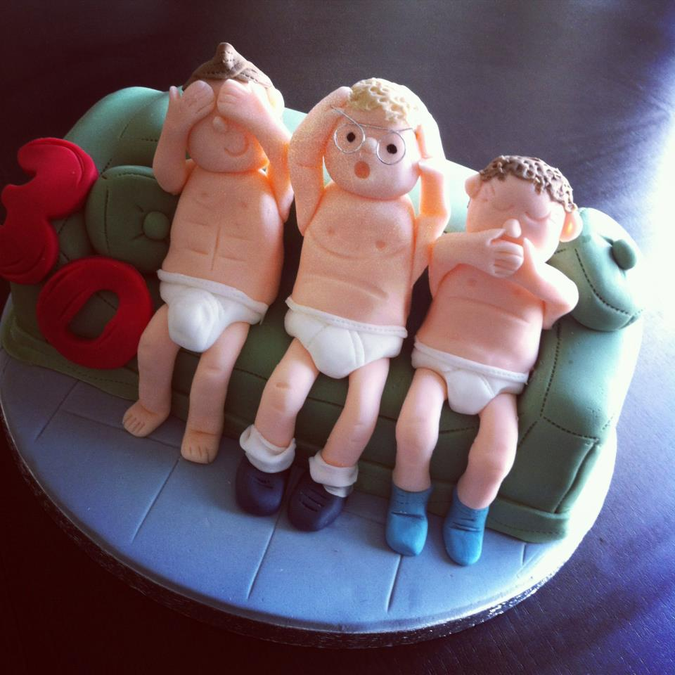 Underwear Themed Cake