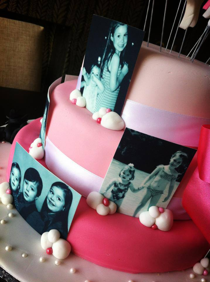Edible Picture Themed Cake 2