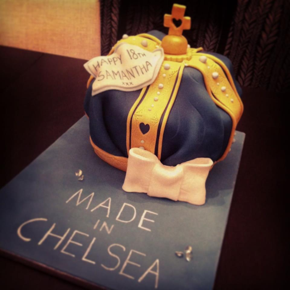 Made In Chelsea Crown Cake