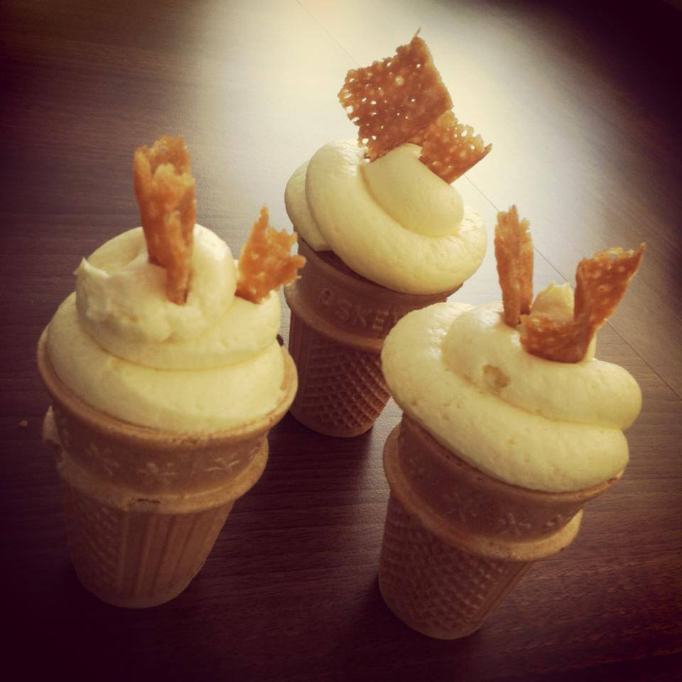Cone Cup Cakes