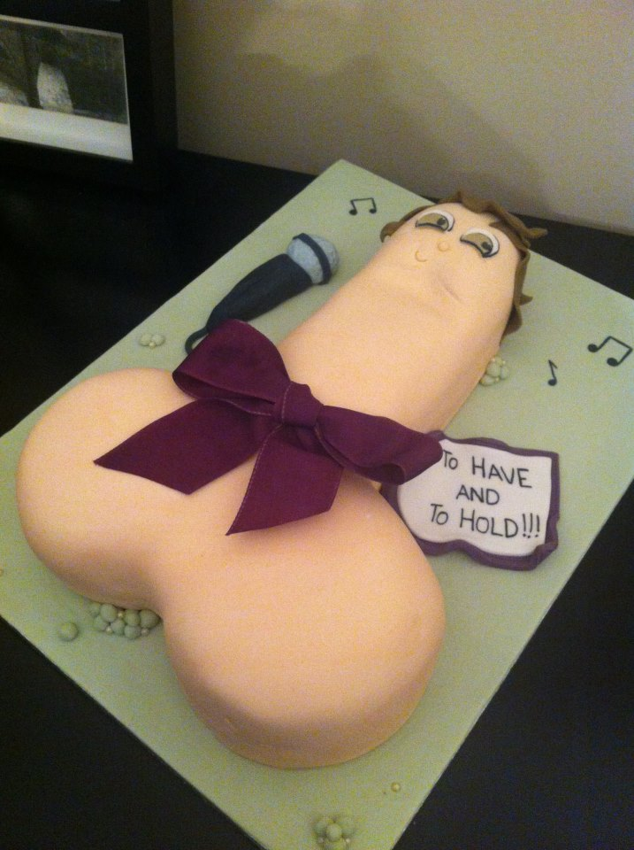 Giant Penis Hen Party Willy Cake