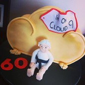 Cloud 9 Themed Cake