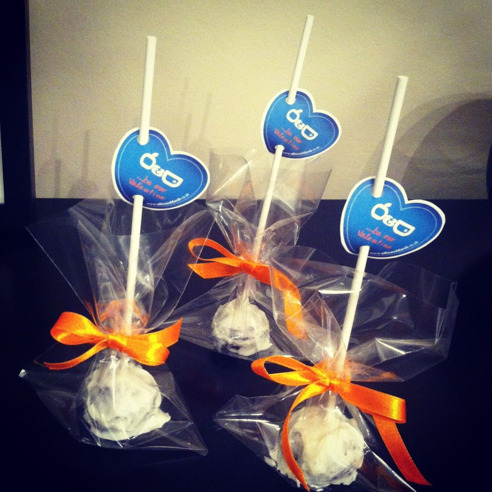 Ollie And Darsh Valentine Corporate Cake Pops 1