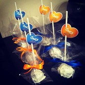 Ollie And Darsh Valentine Corporate Cake Pops 2