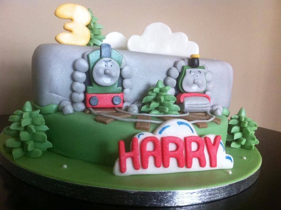 THOMAS THE TANK CAKE LICKY LIPS CAKES LIVERPOOL