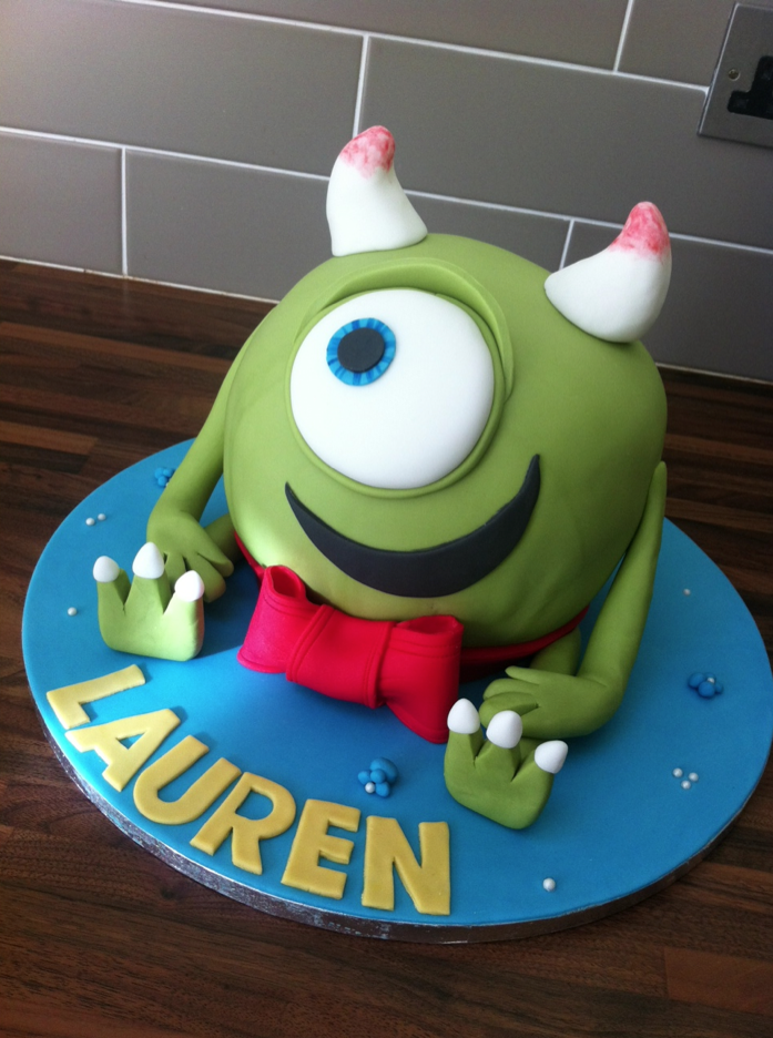 MONSTERS INC MIKEY LICKY LIPS CAKES LIVERPOOL