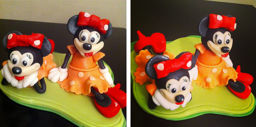 Minnie Mouse Cake Topper Licky Lips Cakes Liverpool