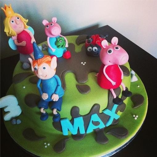 Peppa Pig Cake Ben And Holly Cake Licky Lips Cakes Liverpool