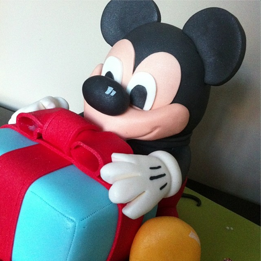 Mickey Mouse Cake Licky Lips Cakes Liverpool 2