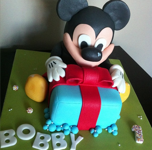 Mickey Mouse Cake Licky Lips Cakes Liverpool