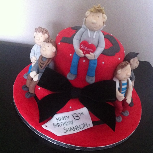 One Direction Cake Licky Lips Cakes Liverpool