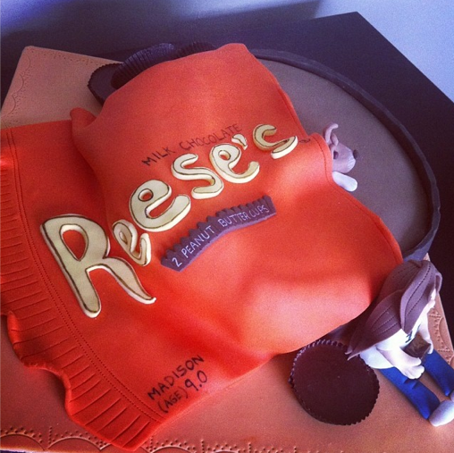 Reese Cake Licky Lips Cakes Liverpool