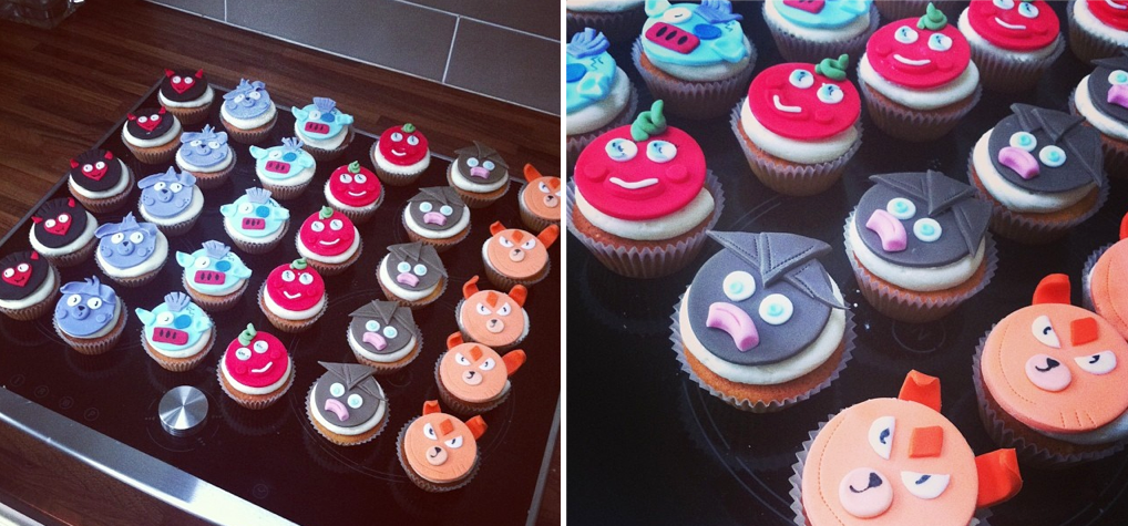 Moshi Monster Cupcakes. Licky Lips Cakes Liverpool