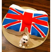 Union Jack Cake Licky Lips Cakes Liverpool