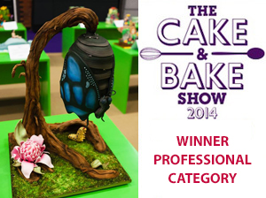 Licky Lips Cakes Liverpool GOLD WINNER PROFESSIONAL CATEGORY 2