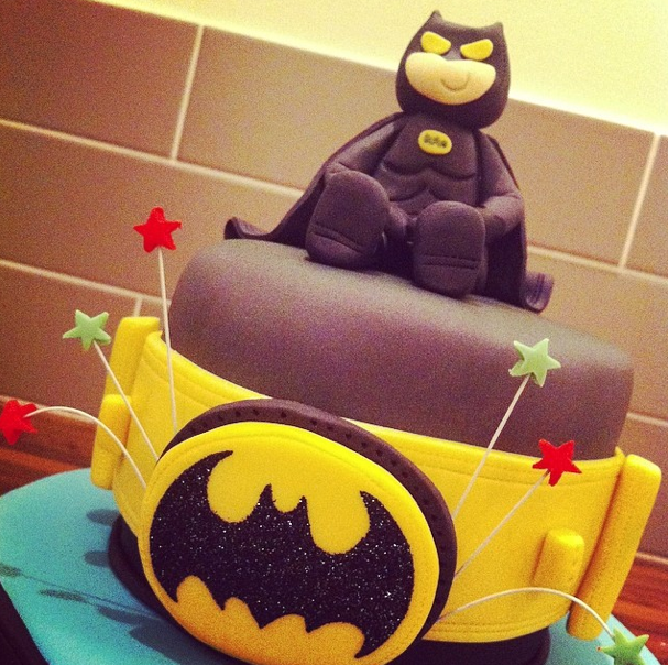 Batman Cake Character Licky Lips Cakes Liverpool
