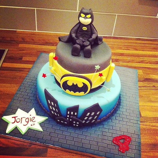 Batman Cake Licky Lips Cakes Liverpool