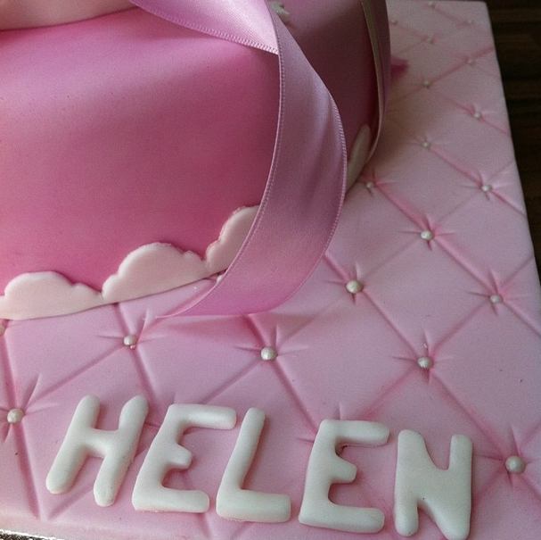 Pink Girly Cake Licky Lips Cakes Liverpool