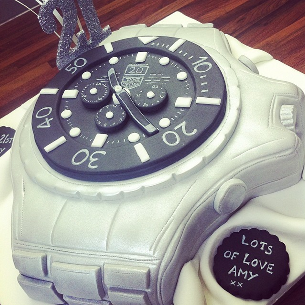 Tag Heuer Watch Cake Licky Lips Cakes Liverpool