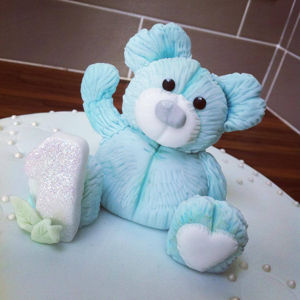 Teddy Bear Cake Topper Licky Lips Cakes Liverpooljpg