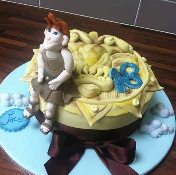 Disney Hercules Licky Lips Cakes Liverpool