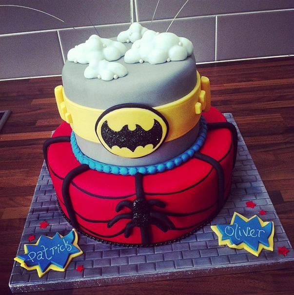 Superhero Cake Licky Lips Cakes Liverpool