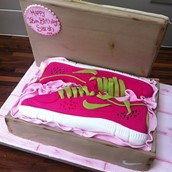 Trainers Cake Licky Lips Cakes Liverpool