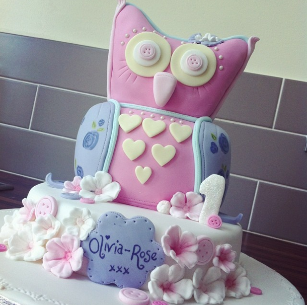 Owl Cake Licky Lips Cakes Liverpool