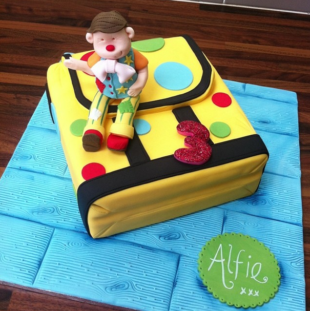 Mr Tumble Cake Licky Lips Cakes Liverpool