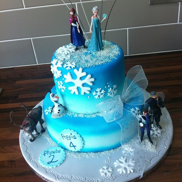 Frozen Cake Licky Lips Cakes Liverpool