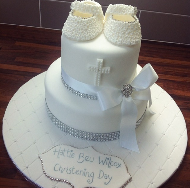 Christening Cake 2 Licky Lips Cakes Liverpool