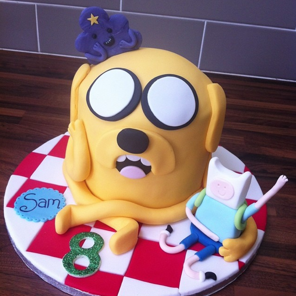 Adventure Time Cake Licky Lips Cakes Liverpool