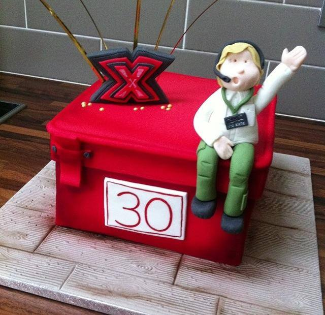 Deal Or No Deal Xfactor Cake Licky Lips Cakes Liverpool