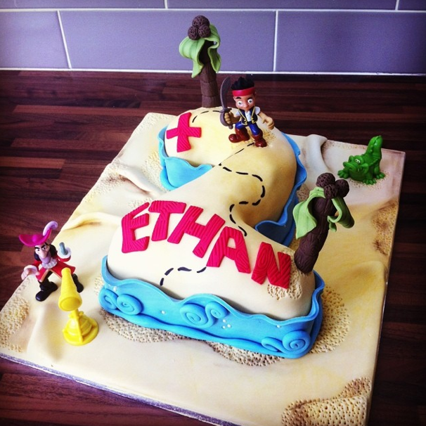 Jake And The Neverland Pirates Cake Licky Lips Cakes Liverpool