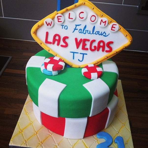 Vegas Cake Licky Lips Cakes Liverpool