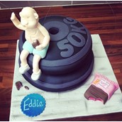 Gym Weights Cake Licky Lips Cakes Liverpool