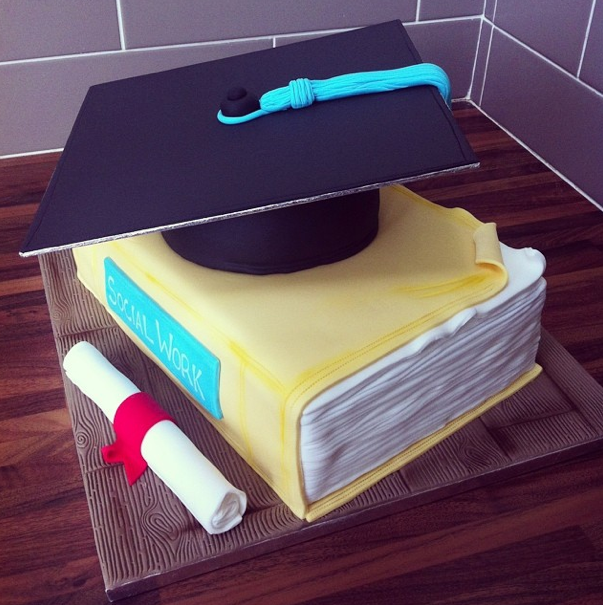 Graduation Cake Licky Lips Cakes Liverpool