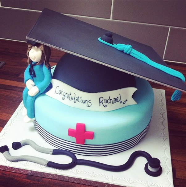 Graduation Cap And Gown Cake Licky Lips Cakes Liverpool