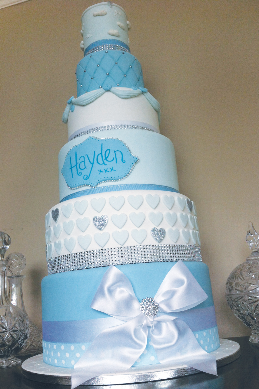 Christening / wedding style - Licky lips Cakes Liverpool 1.JPG