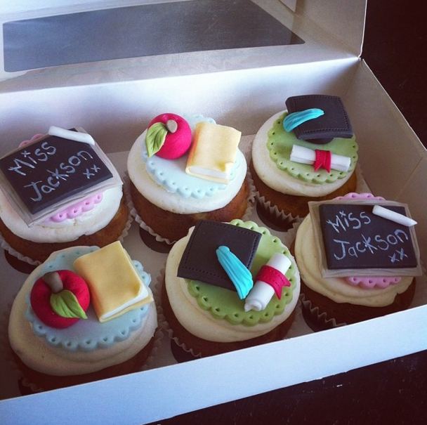 graduation cup cakes - Licky lips cakes liverpool