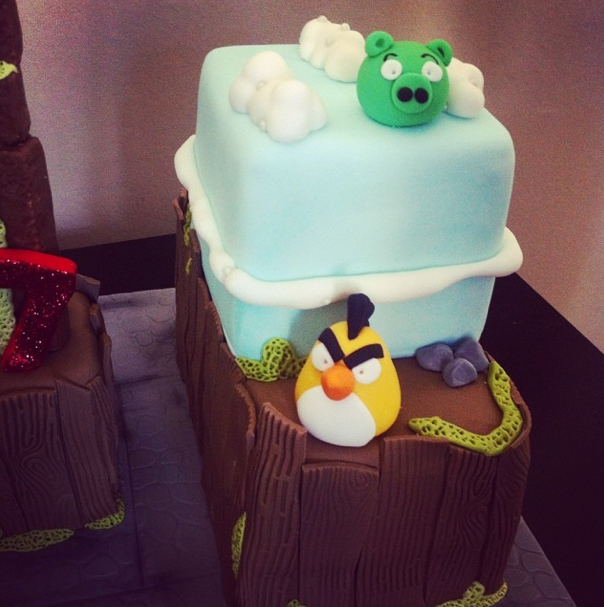 Angry birds cake 3 - Licky lips cakes liverpool