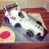 F1 Car - licky lips cakes liverpool