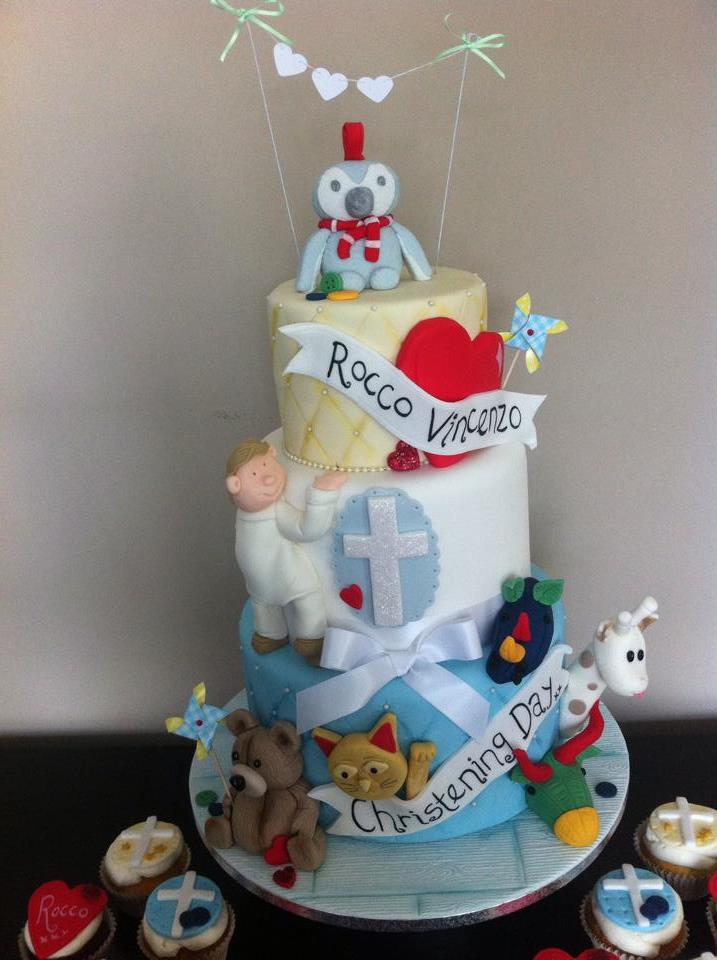 Favourite memories christening cake  - licky lips cakes liverpool