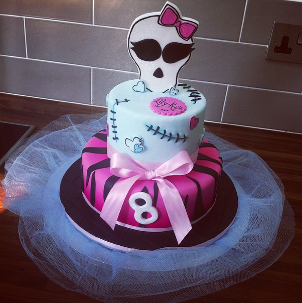 Monster High Cake Licky Lips Cakes Liverpool